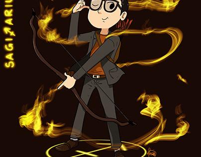 Sagitarrius - The Fiery Archer