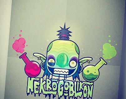 Poster for a band Nekrogoblikon