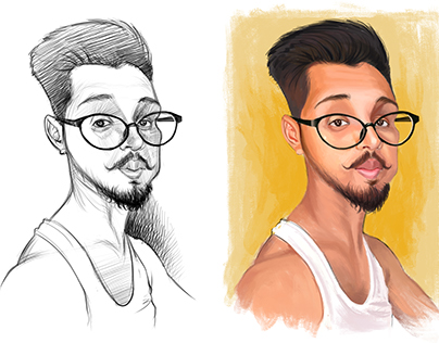 Caricature Ilustrations - Paintings
