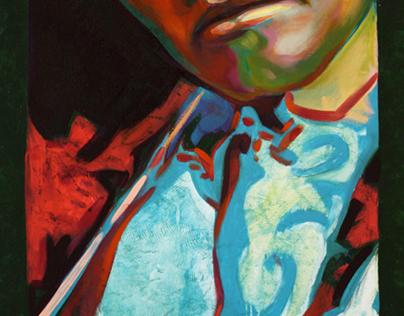 "Projet: Portraits ""Regard-moi,  Little David III"", 2010"