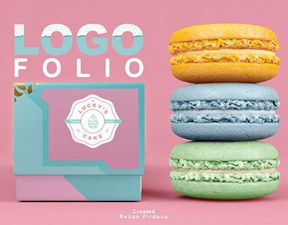 LOGOFOLIO | Lucky's Cake | Branding Logo
