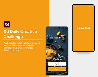 XD Daily Creative Challenge - Food Delivery App
