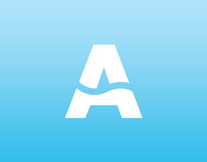 AZZURRAMARE - Logo e Biglietto da Visita