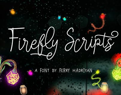 Firefly - Handwritten Font