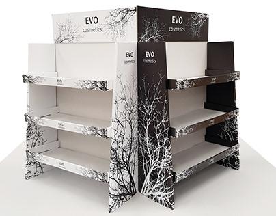 EVO Cosmetics Stand_