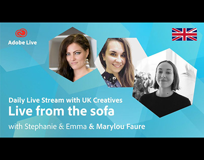 Adobe Live from the sofa UK with Marylou Faure