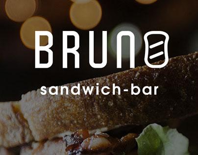 Design Mobile App for sandwich-bar BRUNO