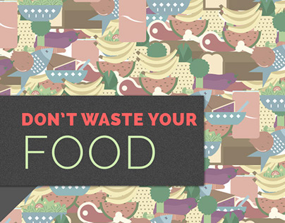 Don't waste your food app