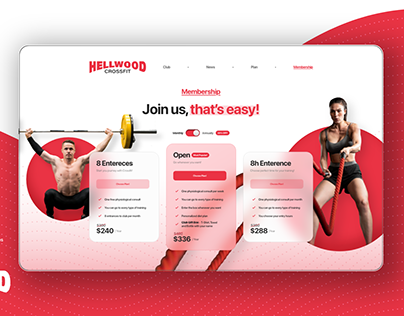 Pricing Gym / UX&UI / Daily Creative Challenge