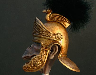 Age of the Birdmen Empire sculpt and helmet design