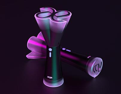 AE-BEAM (AESPA concept light stick design)