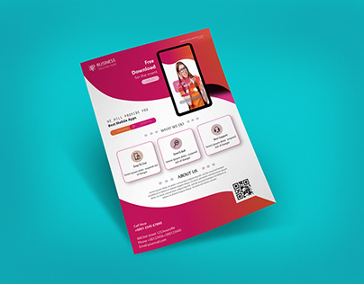 MOBILE APPLICATION FLYER