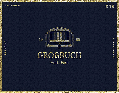 GROẞBUCH | Auditing Company Branding