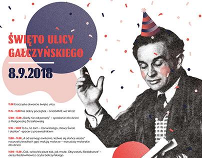Święto ulicy Gałczyńskiego - poster