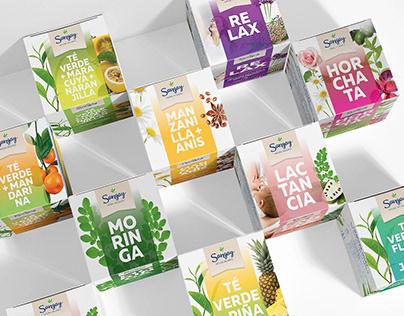 Sangay - Tea Packaging