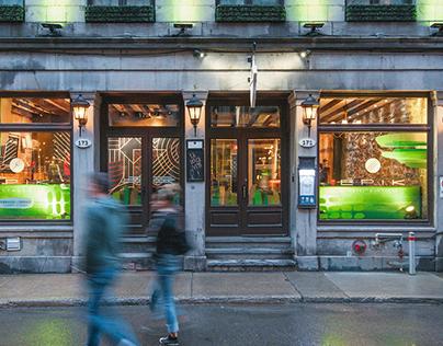 Vitrines saisonnières - Hôtel et restaurant Épik
