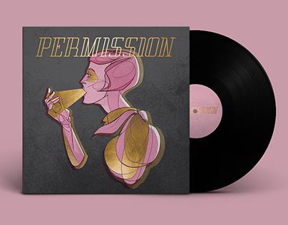 Ilustración y Diseño para el disco de PERMISSION.