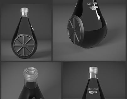 conception bouteille Cidre MEDDEB