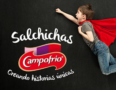"Campaña Campofrío ""Creando historias únicas"""