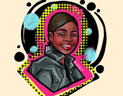 Cicely Tyson Illustration