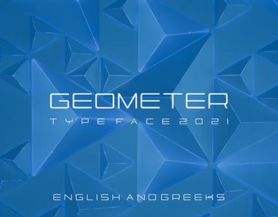 GEOMETER type face 2021 (soulios design)