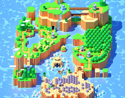 Super Mario World 3D