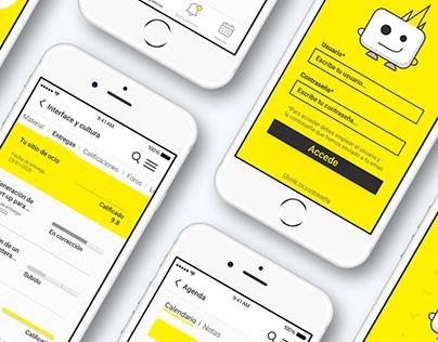 Escuela Superior de Diseño _app