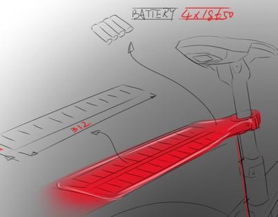 太阳能自行车充电板