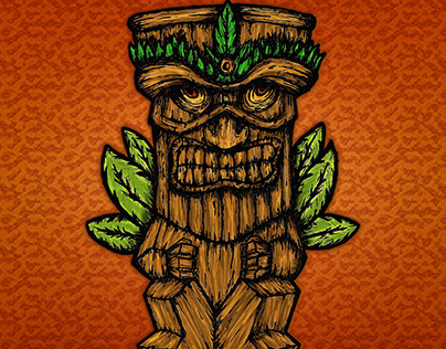Tiki Monster | Redbubble