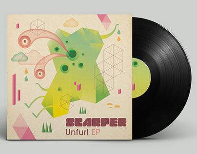 Scarper album design