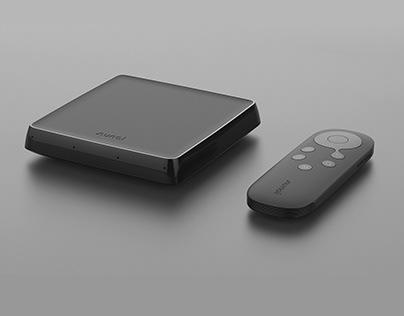 MGTV-M1TV box and remote control