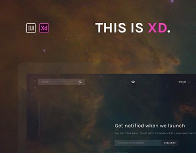 EUI Web kit for Adobe XD