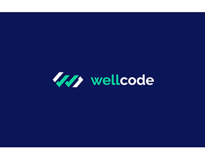 WellCode - branding and landing page concept