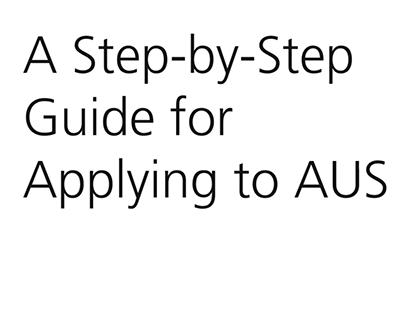 Apply to AUS Animation