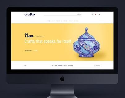 Homepage for Handicraft pot
