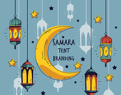 "Ramadan Tent Branding ""Samara Tent"""
