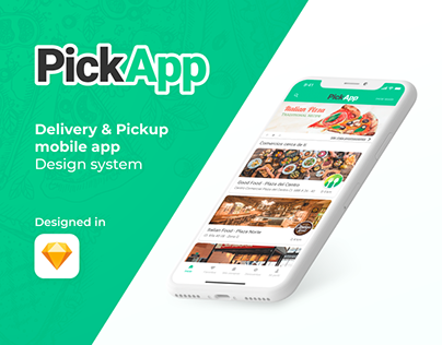 PickApp | Delivery & Pickup mobile app