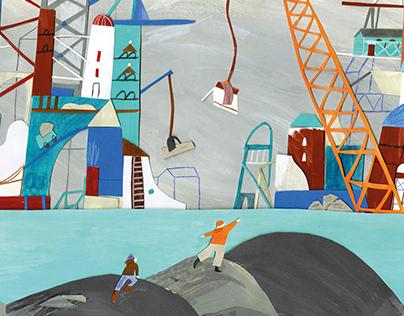 My friend Oskar - Children's book