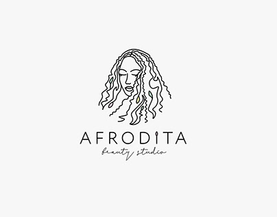 Beauty studio Afrodita   Logo design