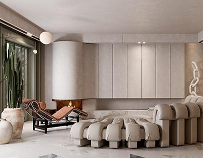 Levent House//Livingroom