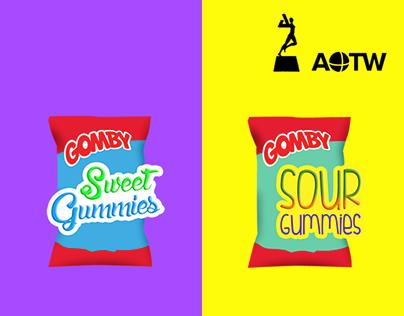 Gomitas GOMBY - Dulce o ácido / Sweet or sour