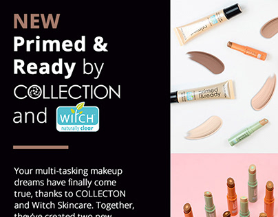 Superdrug Email Marketing - Collecton & Witch
