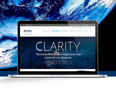 Bexel Clarity Camera | Landing Page