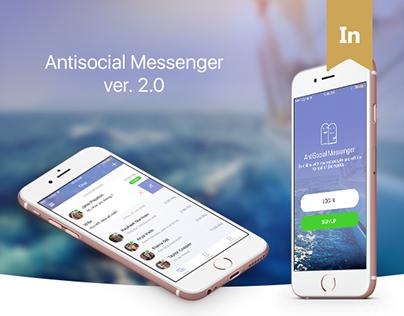 Application design - AntiSocial Messenger ver. 2.0