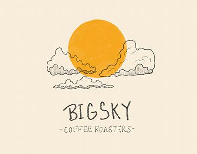 Big Sky Coffee Roasters Branding