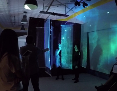 Liminal Projection Installation