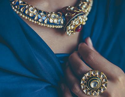 Sunita Shekhawat :representing modern day Solah sringar