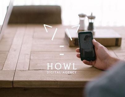HOWL AGENCY - Web Design