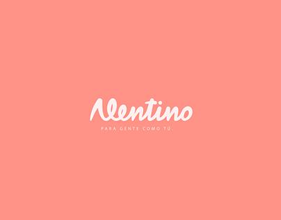 Rediseño logo Alentino