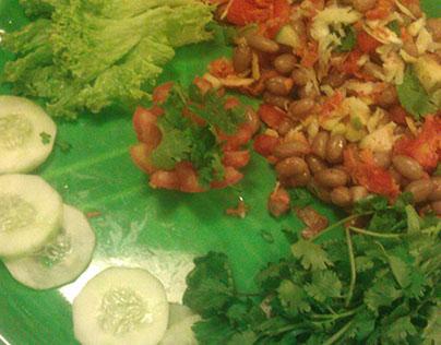 Salad Photography